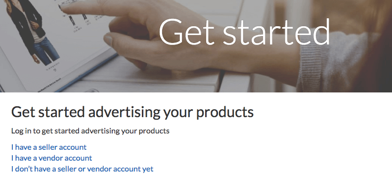 getting started with amazon ads