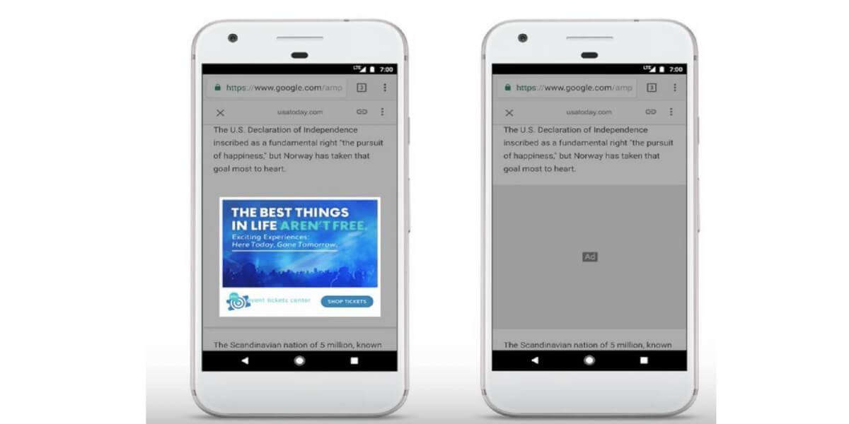 Google AMP ads