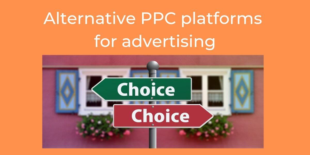 Alternative PPC platforms for advertising