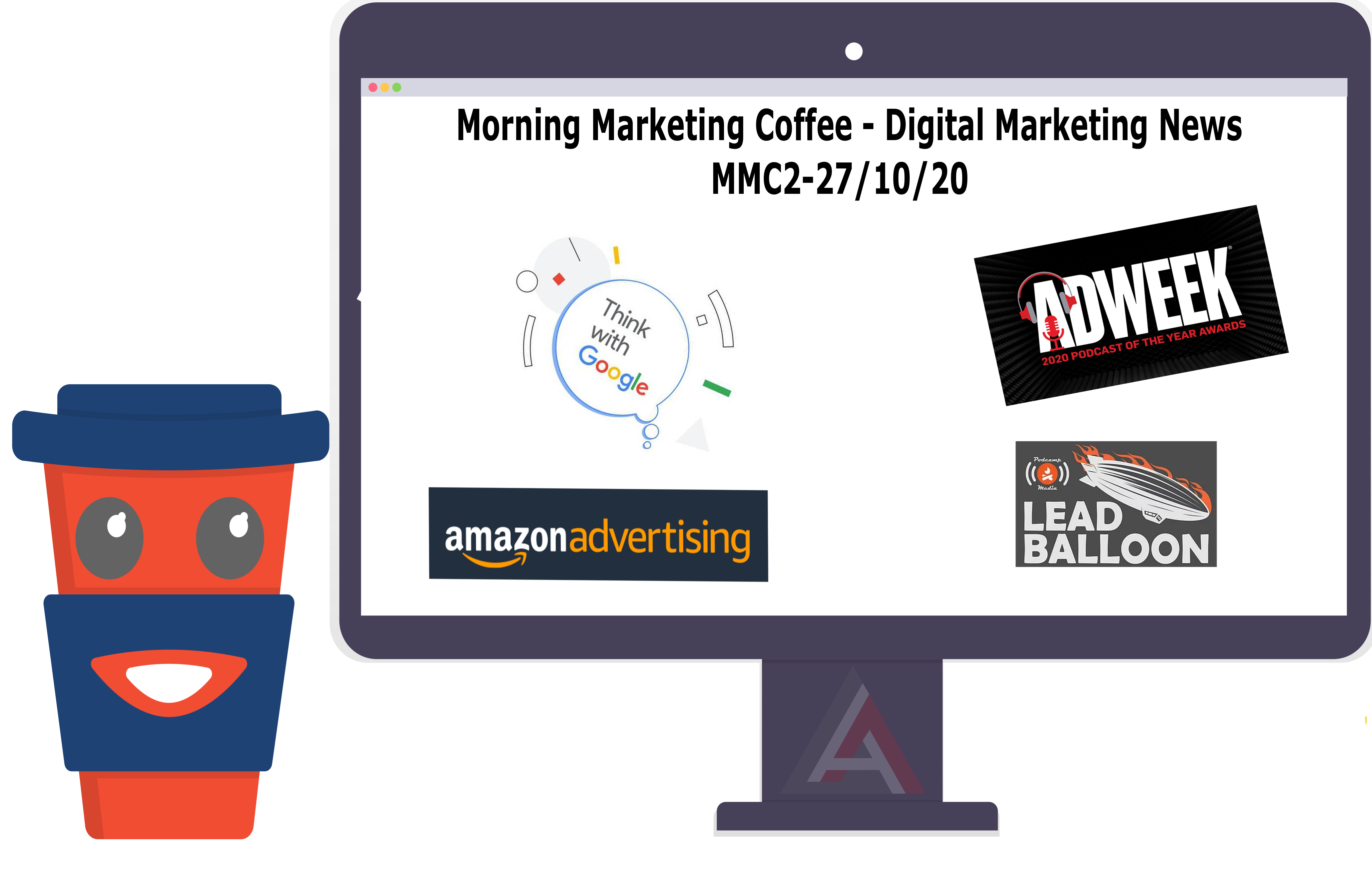 Amazon Ads overview, Best Marketing Podcast in 2020 & More – [MMC-2]