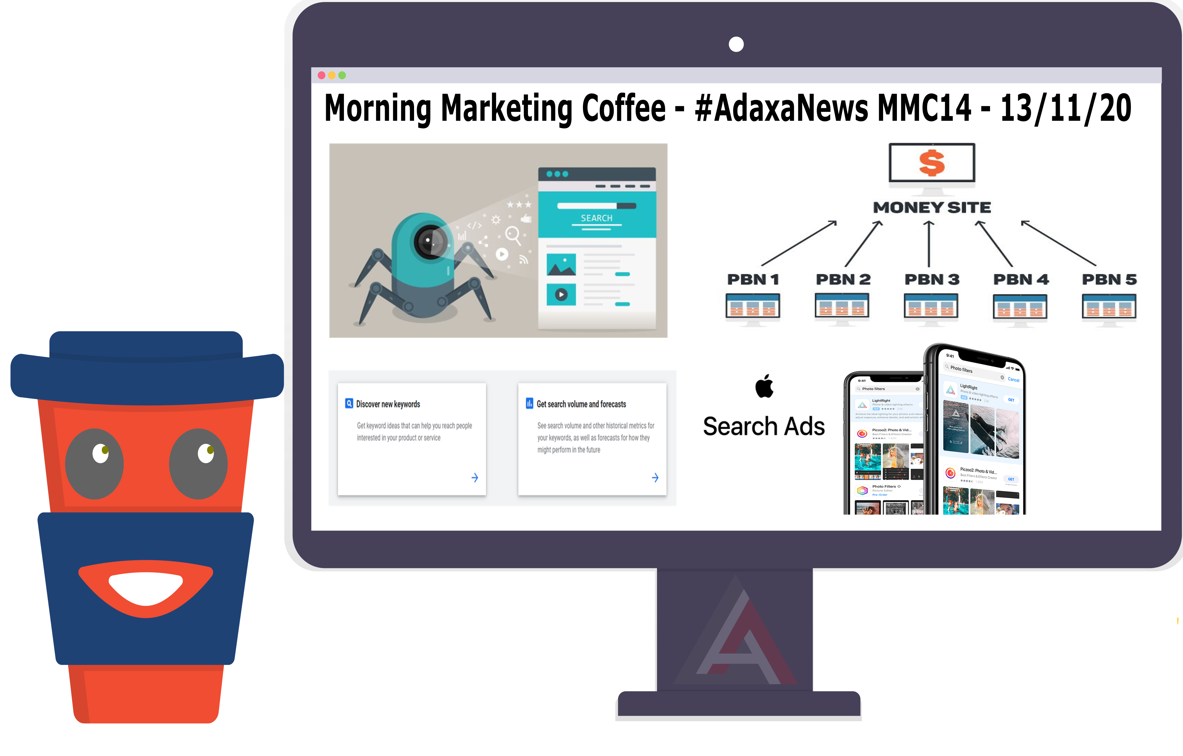 Googlebot News, Google Ads Keyword Forecast Tool, Apple Search Ads & More – [MMC-14]