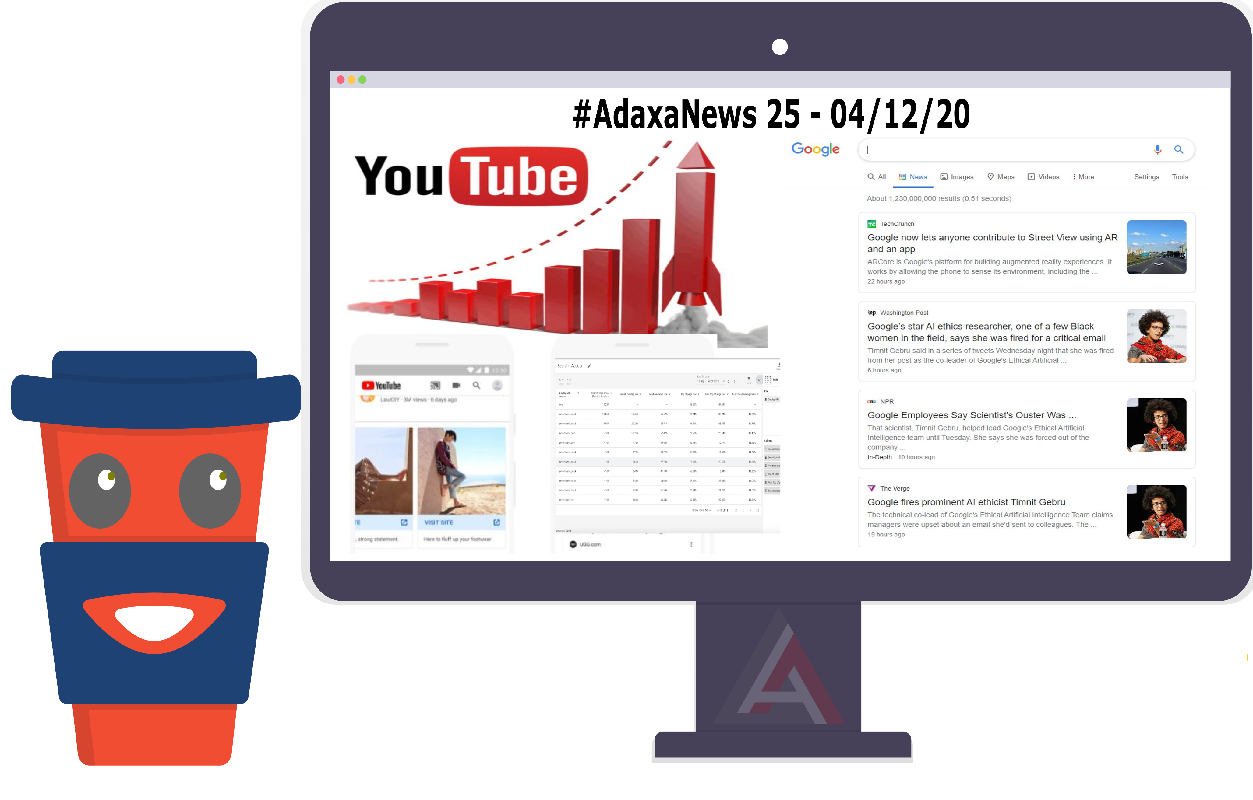 YouTube Metrics, Google Ads News, Google Search Console – #AdaxaNews-25