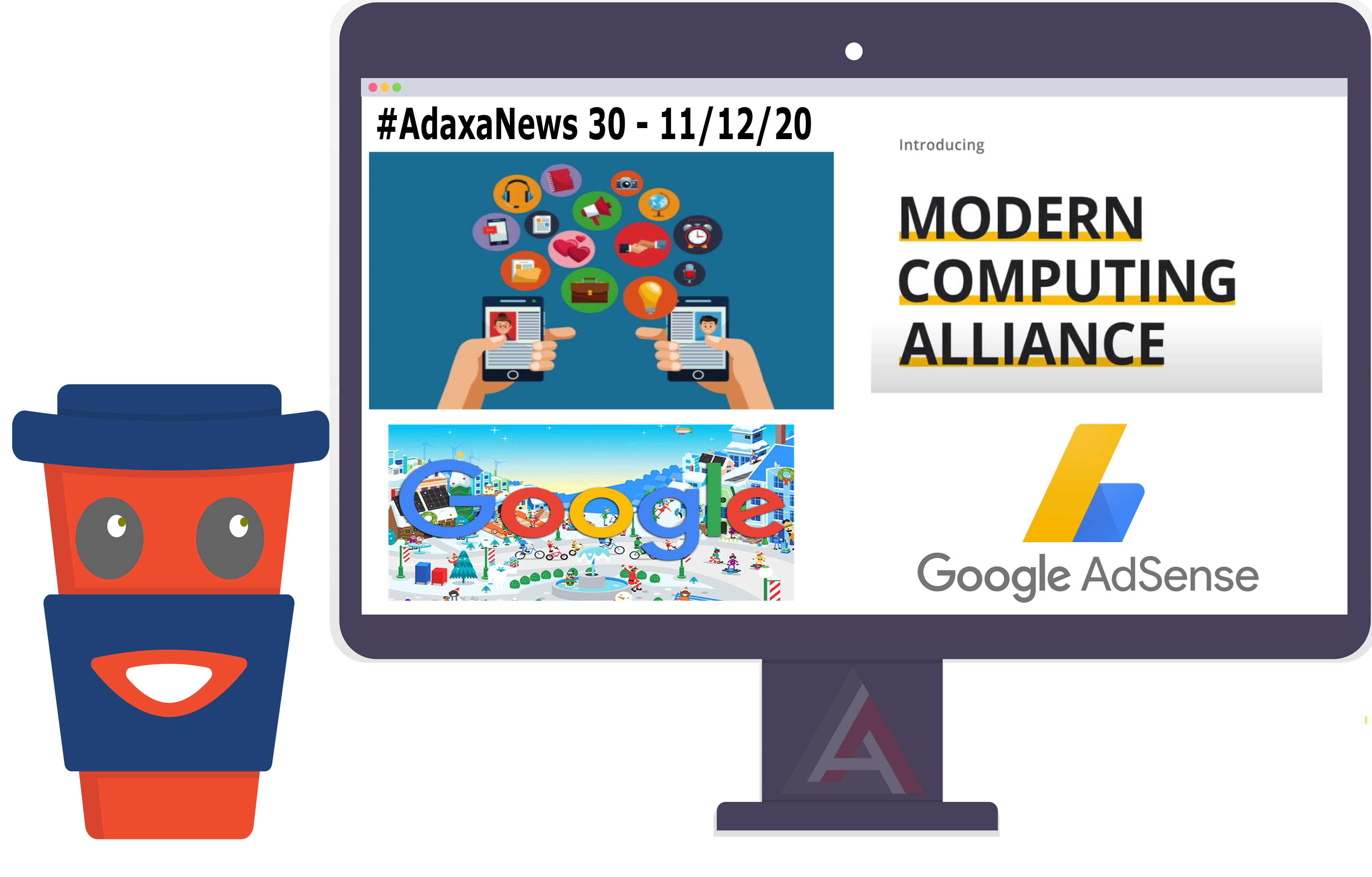Google AdSense, Santa Tracker, Google Web Stories, Modern Computing Alliance – #AdaxaNews-30